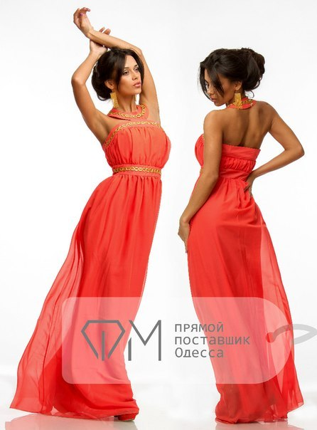 греческое платье Фабрика Моды