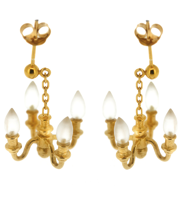 купите эффектные серьги-люстры от Miss Bibi - Mini Chandelier earrings