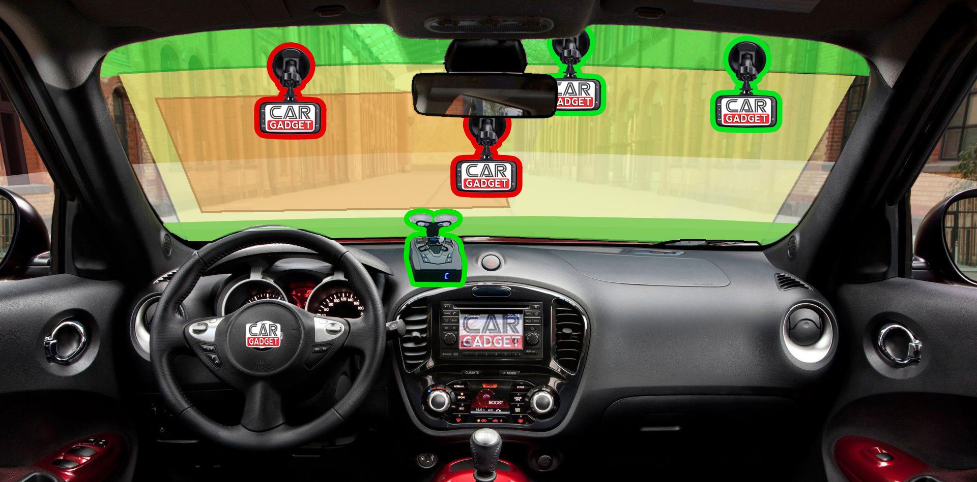 Как установить видеорегистратор к лобовому стеклу видеорегистраторы in russia