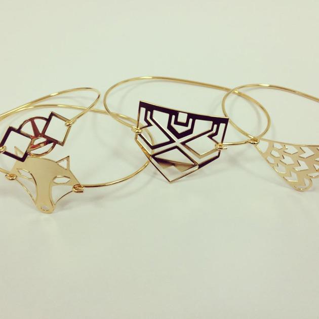 купите тонкий изящный браслет от Chic Alors-Paris