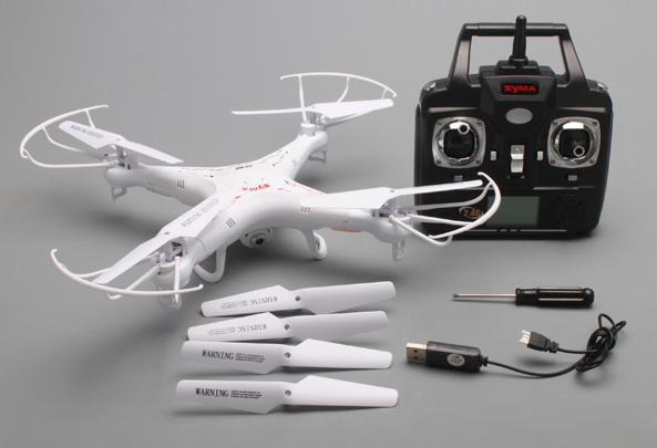 Комплект продажи Syma x5c