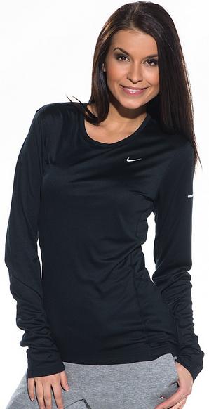 Женская беговая рубашка Nike Miler LS Top 519833 522