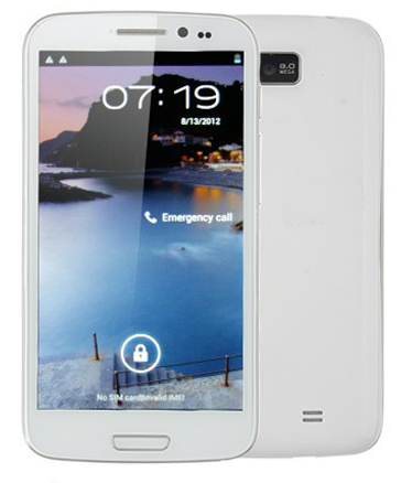 Zopo ZP900S Leader WHITE Android 4.0 (MTK6577)
