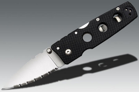 Нож Cold Steel Hold Out III Serrated Edge (11HMS)