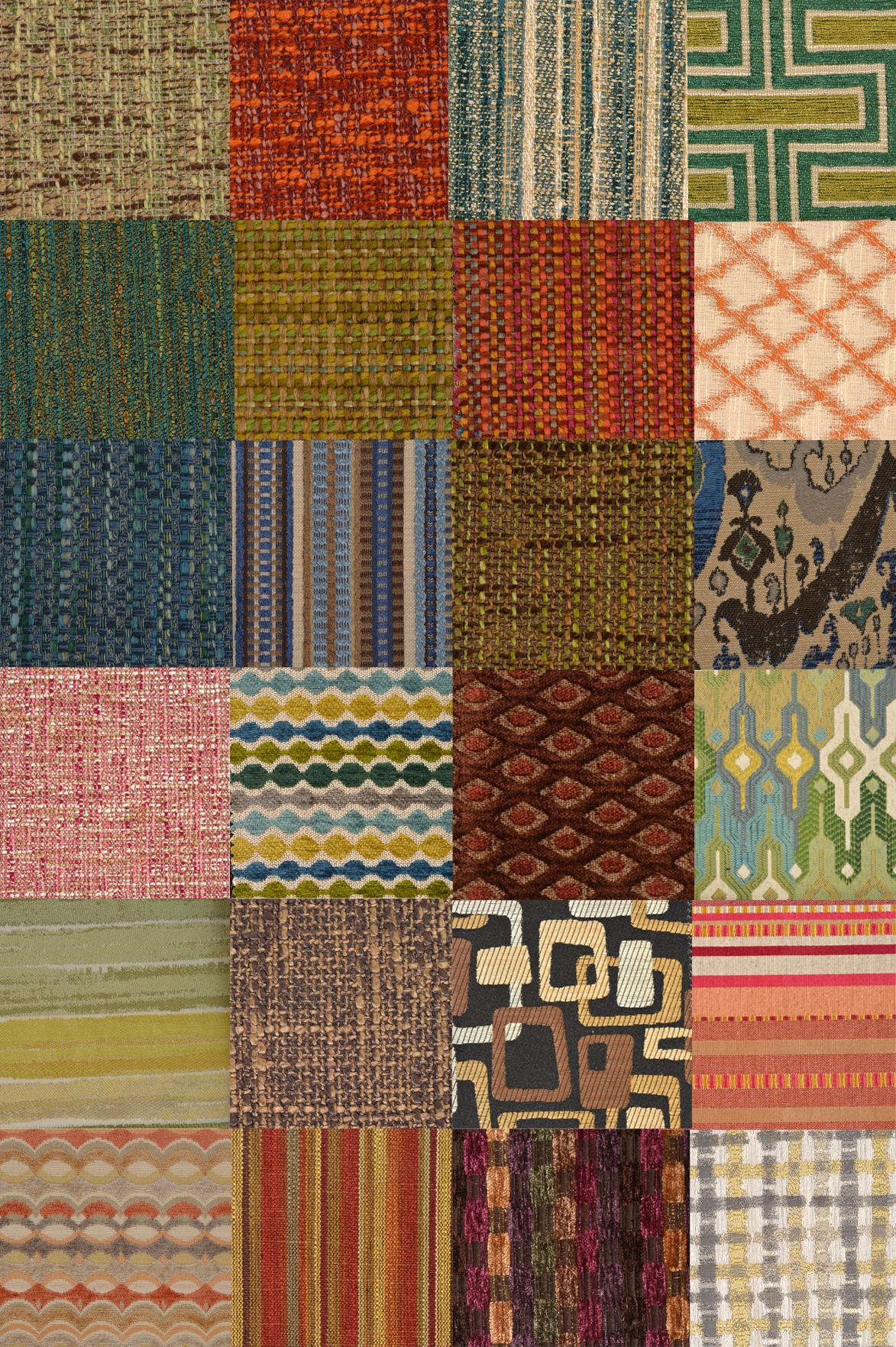 Дизанерские ткани домашней коллекции полезной мебели  Танцующий Стул коллекция 2015