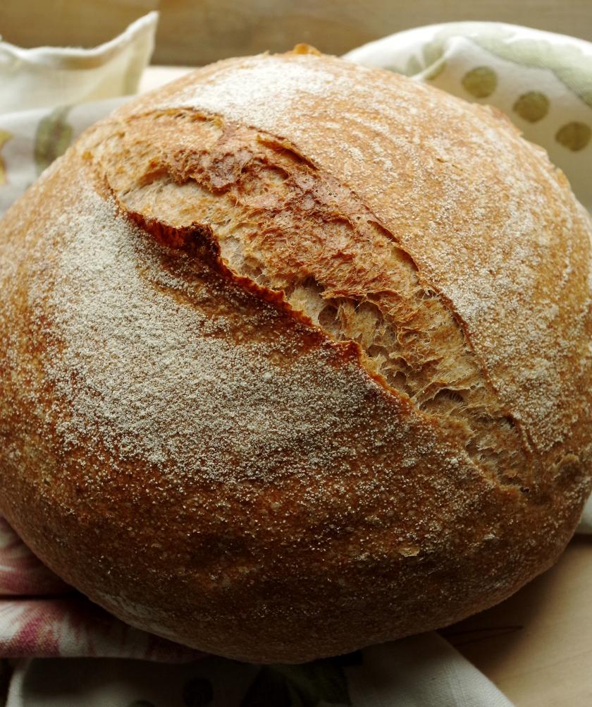 Как приготовить бездрожжевой хлеб на закваске в домашних условиях 856
