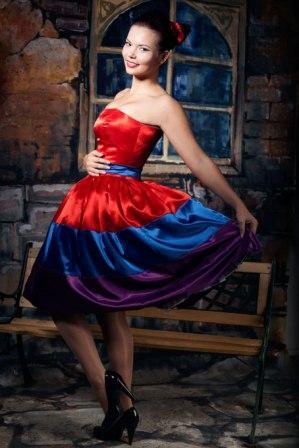 Платье стиляги на прокат спб