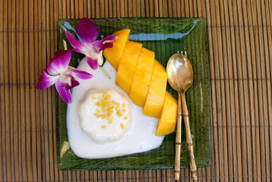 Тайский десерт готов