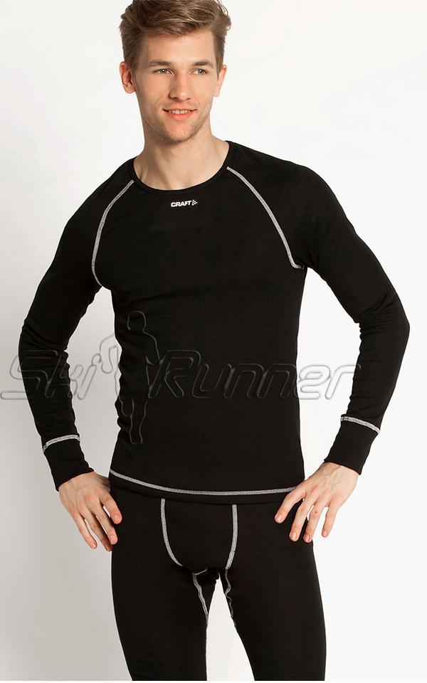 Комплект термобелья Craft Warm Multi мужской чёрный