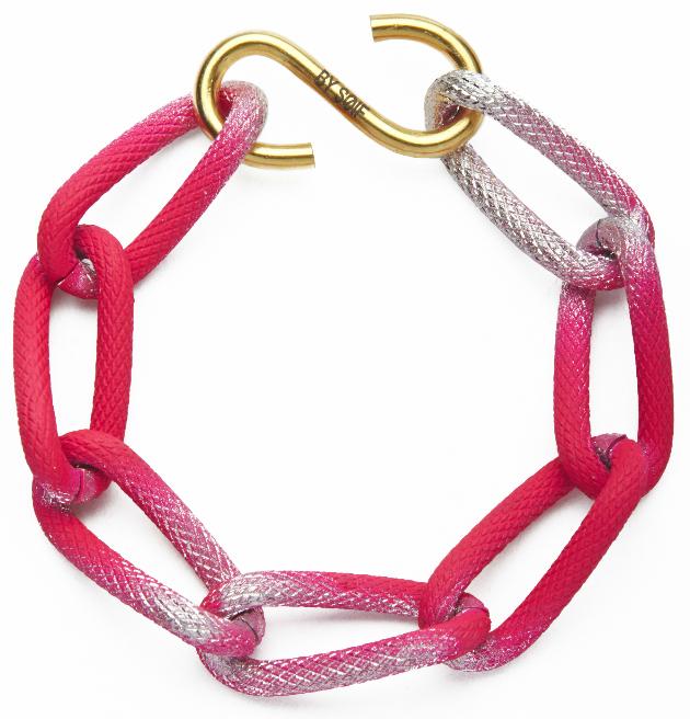 Купите оригинальный браслет ярко-розового цвета by от soif