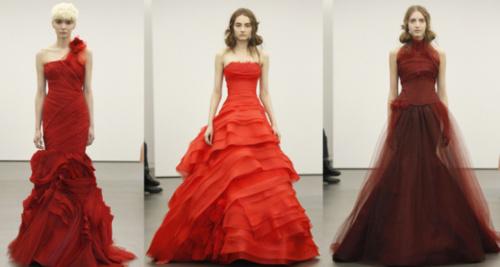 Модели на Неделе свадебной моды 2013