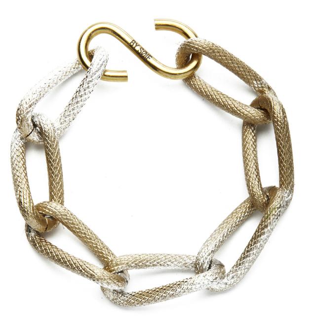 Купите оригинальный браслет бронзово-белого цвета от by soif