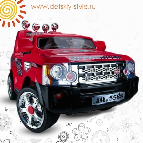"Электромобиль Kids Cars ""Range Rover"" J012 Джип однометный"