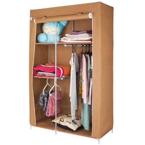 купить тканевый шкаф коричневый