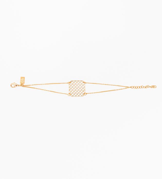 купите тонкий браслет на цепочках AJOURE ALMA от Chic Alors-Paris