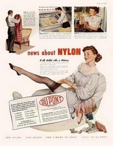 DuPont Nylon История производства колготок