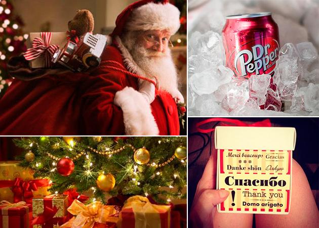 Новогодние подарки в Москве