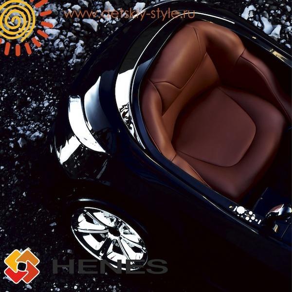 Эргономическая форма сидения электромобиля Henes Phantom Phremium