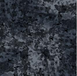 Разработка ALLMULTICAM. Пример: черная расцветка камуфляжа