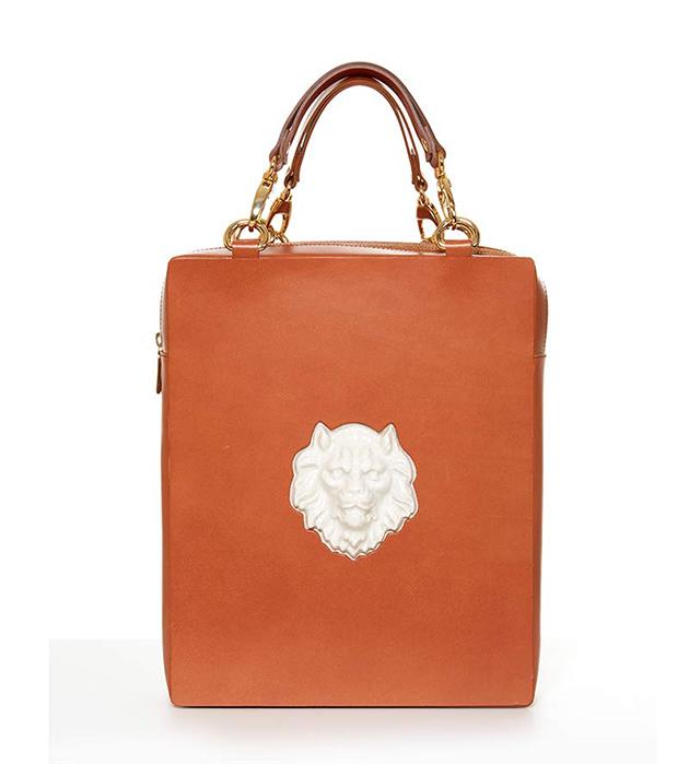 рюкзак кармельного цвета от испанского бренда ANDRES GALLARDO - Bagpack Lion Bag Caramel