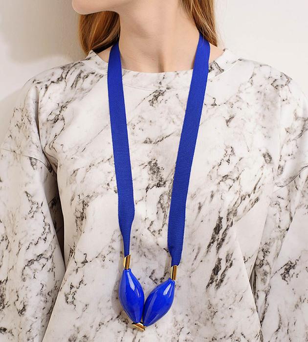 стильное украшение из муранского стекла от бельгийского бренда Pili Collado