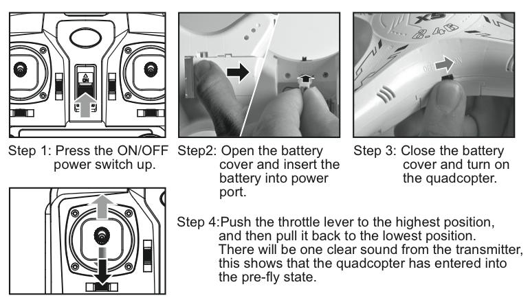 инструкция на русском языке квадрокоптера Syma X5c - фото 9