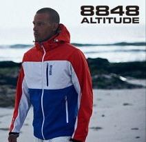 лыжная куртка 8848 Altitude Neptun Softshell (7602) синяя