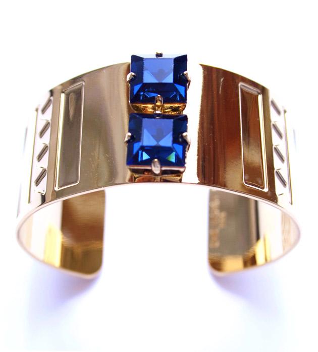 купите браслет-манжет с кристаллами от Chic Alors-Paris