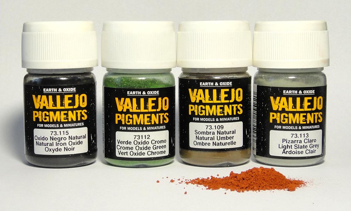 Пигменты Vallejo