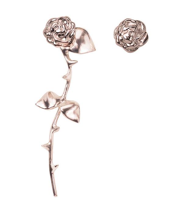 купите серьги-розы ручной работы Marina`s Roses Rose Golden earrings от английскогo бренда SMITH GREY