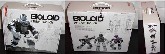 Коробки с набором BIOLOID Premium Kit