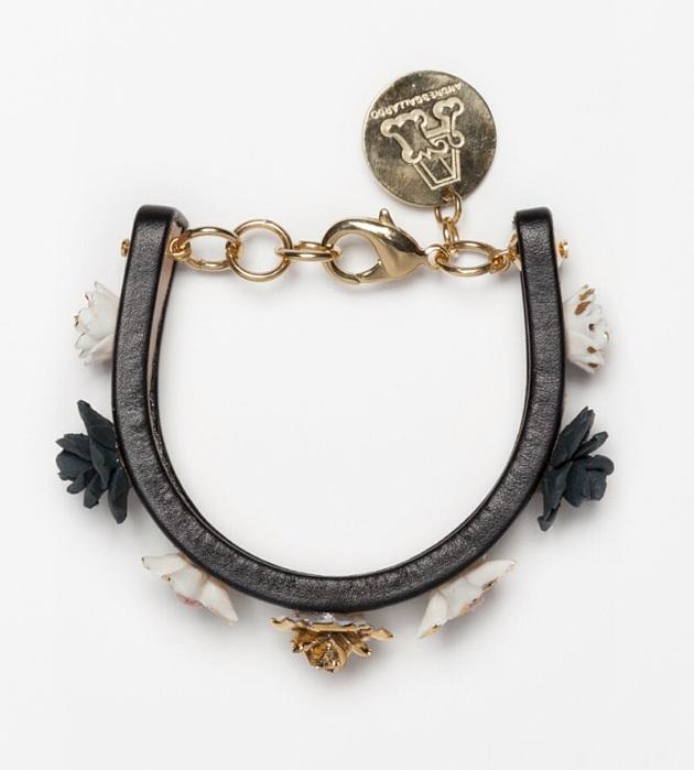 бижутерия из фарфора от ANDRES GALLARDO Mini Flower bracelet