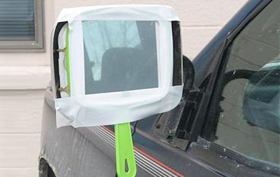 Ремонтируем зеркало в автомобиле
