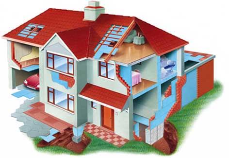 Styrofoam картинка дома