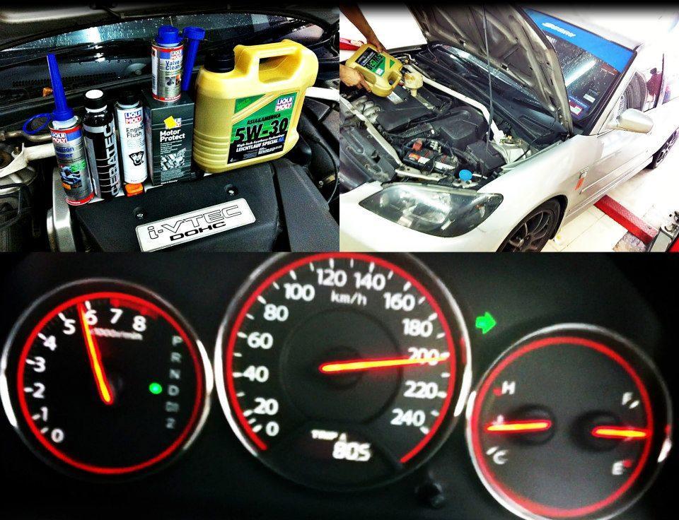 Honda Civic ET2.0 ТО с LIQUI MOLY