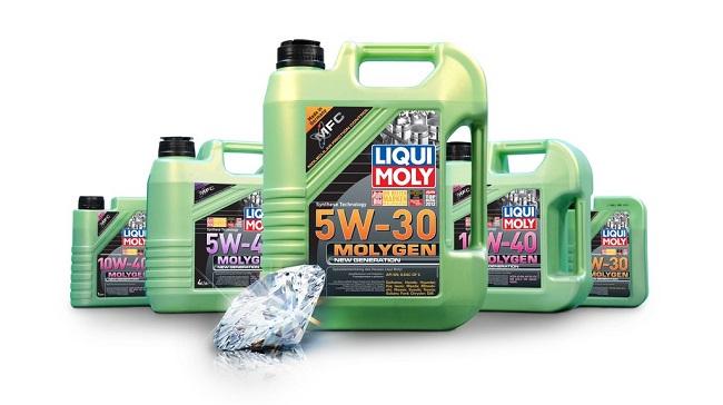 Molygen New Generation получила современную линейку вязкостей, позволяющую использовать масло в самых разнообразных автомобилях