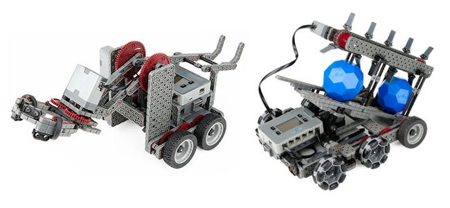 Модель роботехнического конструктора VEX IQ