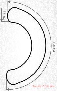 Подушка для Беременных С 190x35 см