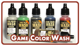 Проливки Vallejo Game Color Wash