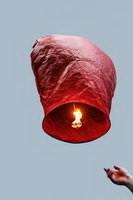 Небесный фонарик желаний