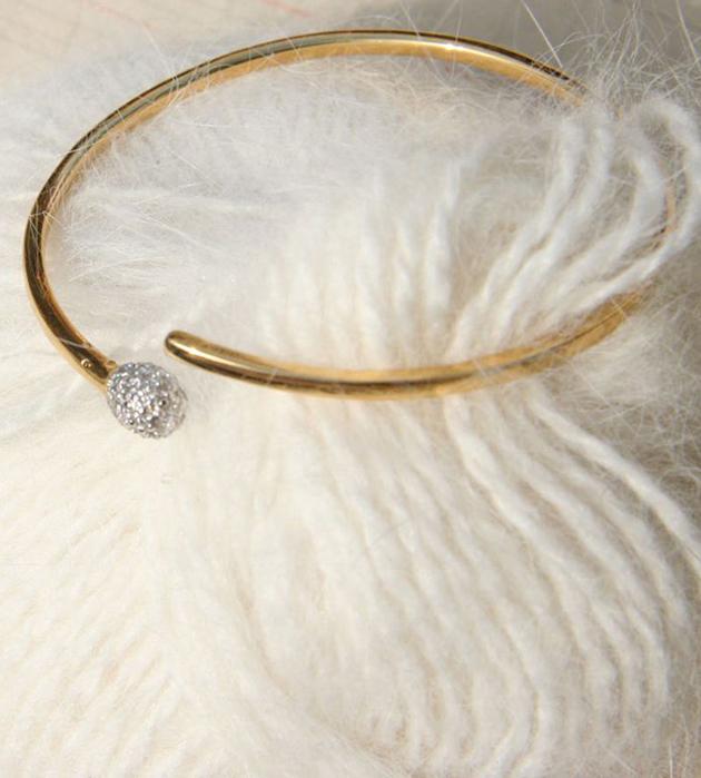 оригинальный браслет Precious Match из позолоченного серебра от Miss Bibi