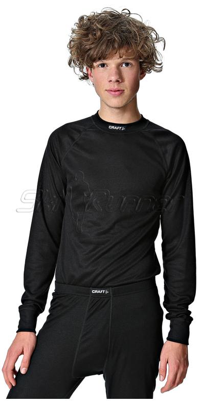 Комплект термобелья Craft Multi Active мужской чёрный