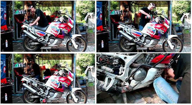 Что необходяимо снять с мотоцикла