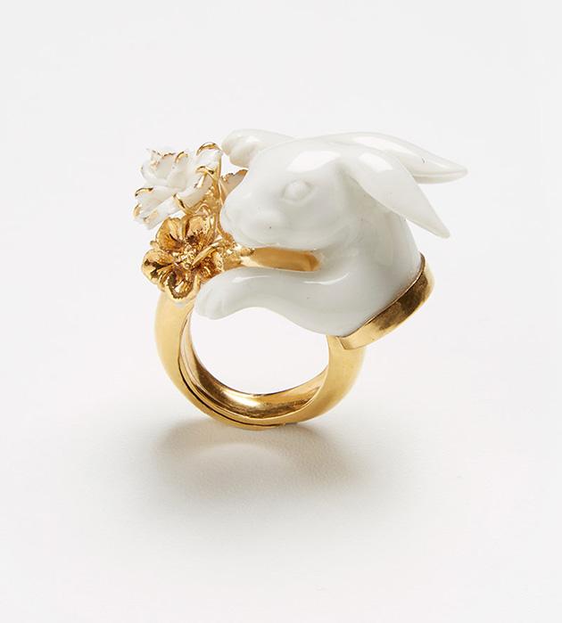 оригинальное кольцо ручной работы Tambor ring от ANDRES GALLARDO