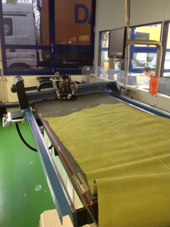 При разработке новой модели используется сверхточный лазерный раскрой материала.