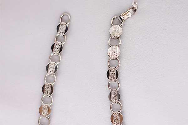 Винтажное ожерелье из металла с тиснением Sarah Coventry 80-е годы