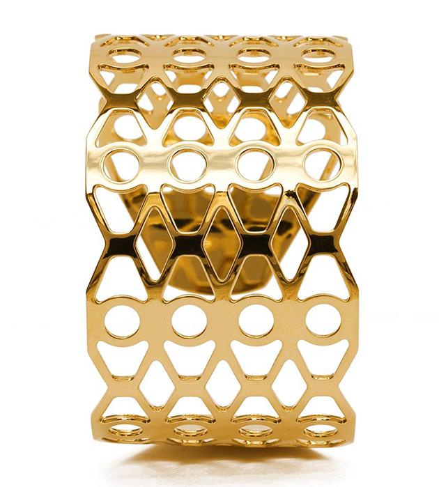 купите изящный браслет Palma золотистогo цвета от Chic Alors Paris
