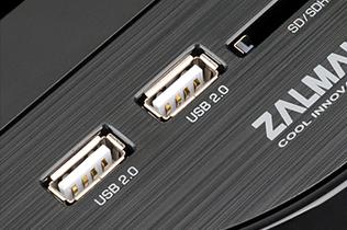 Два встроенных порта USB