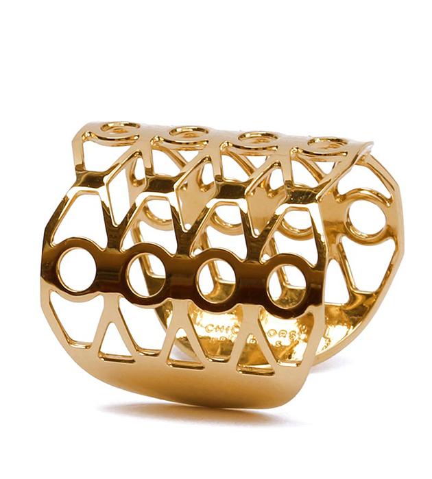 изящное кольцо ручной рабoты Palma от Chic Alors Paris