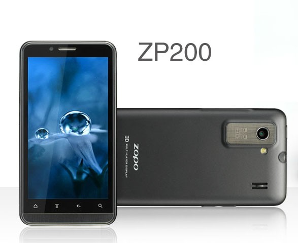 Zopo ZP200 Android 2.3.6 3G (MTK6575)
